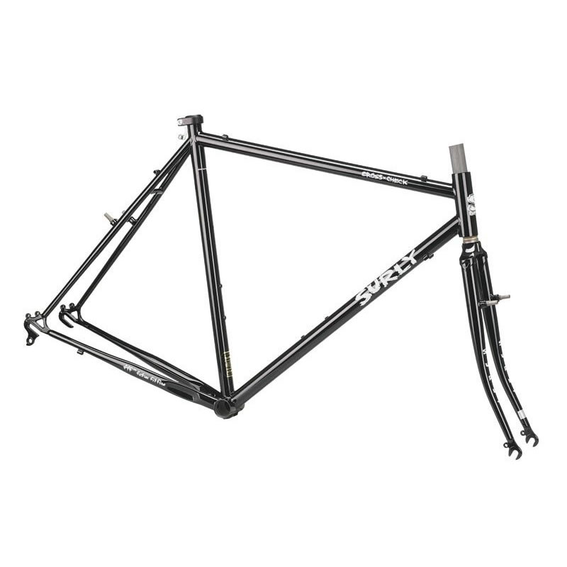 surly cross check frameset black