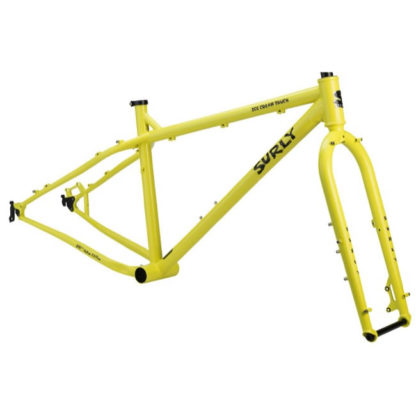 surly ice cream truck frameset yellow