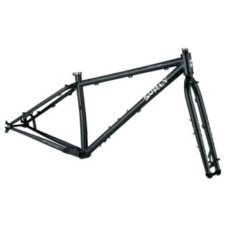 surly karate monkey frameset black