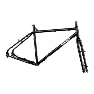 surly troll frameset black