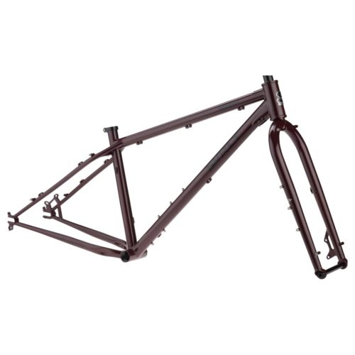 surly wednesday frameset calimocho red