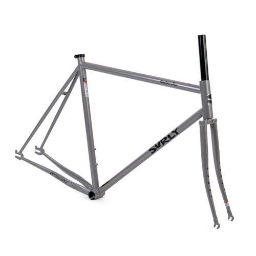 surly steamroller frameset grey