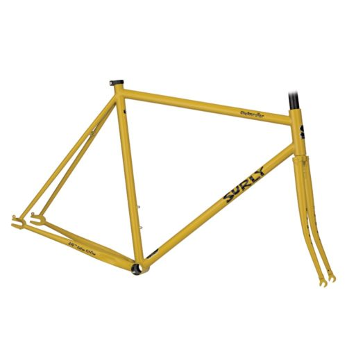 surly steamroller frameset mustard