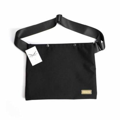 Restrap Musette Bag Black