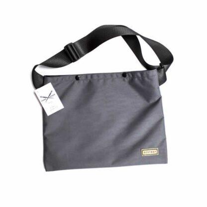 Restrap Musette Bag Grey