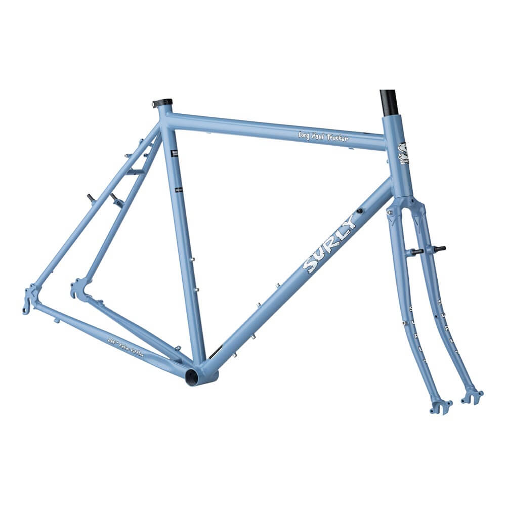 surly long haul trucker frameset blue