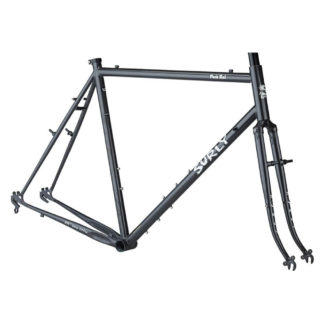 surly pack rat frameset grey