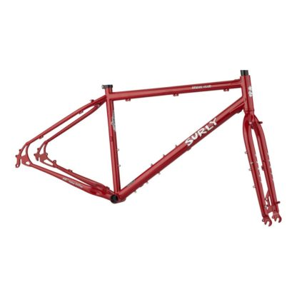 surly bridge club red frameset