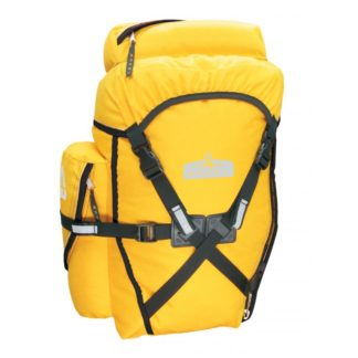 Arkel XM-45 Bikepacking Panniers yellow