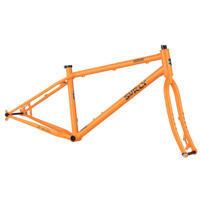 surly lowside frameset dream tangerine orange