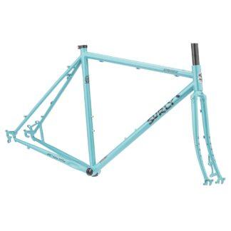 surly straggler 700c frameset chlorine dream blue